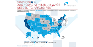 World Of Work Map by What You U0027d Need To Earn In Every State To Rent A Decent Apartment