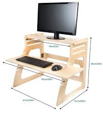 diy standing desk converter build your own adjustable standing desk computer riser standing desk
