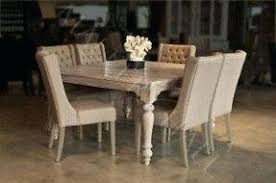 Pedestal Table For Sale Distressed White Timber Dining Table Oval Round And Chairs
