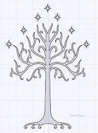 whte tree of gondor by barnowler on deviantart hobbit