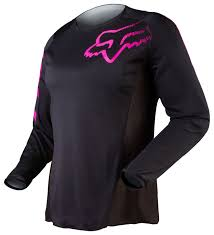 female motocross gear fox racing blackout women u0027s jersey revzilla