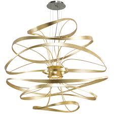 vertigo spiral bronze and gold leaf modern pendant chandelier lighting modern living room light extraordinary corbett vertigo chandelier calligraphy light