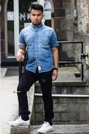 Abercrombie Ripped Jeans Eduardo Abercrombie U0026 Fitch Denim Shirt Express Black Watch