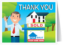 real estate greeting cards