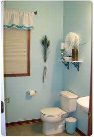 Painting Bathroom Walls Ideas Enchanting 10 Blue And Brown Bathroom Wall Decor Inspiration
