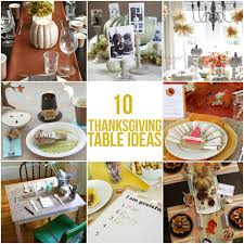 10 inspiring thanksgiving table ideas