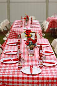 creative ideas backyard bbq wedding shower wedding theme tables