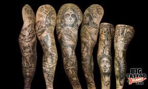 steel rain tattoo studio black and grey tattoo big tattoo planet