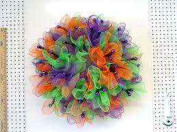 geo mesh wreath ruffle wreath tutorial using deco poly mesh and raz