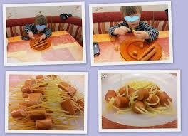 cuisine en maternelle pâtes saucisses 21 juin 2013 nounou séverine assistante
