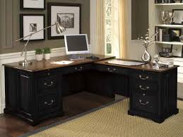 best computer desk design office best computer desk and rectangle black solid wood with