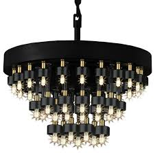 Gallery Lighting Chandeliers Cosmos 3 Ring Chandelier Lighting Chandeliers Chandeliers By