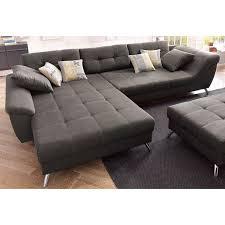 canapé d angle avec méridienne modulable gris autres mobilier