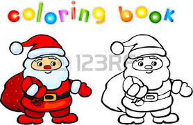 5 017 christmas coloring book stock illustrations cliparts