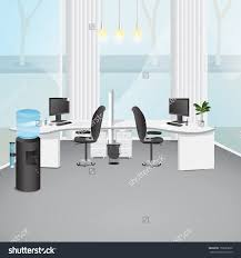 office design fit out refurbishment uk business interiors office room stock vectors vector clip art shutterstock modern illustration graphic design editable for your