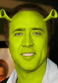 What Movie Is The Nicolas Cage Meme From - shrek cage nicolas cage shrek and meme