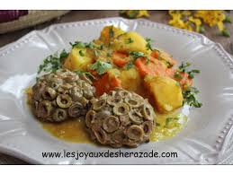 cuisine algérienne viande hachée aux olives