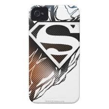 blue superman logo iphone cases u0026 covers zazzle