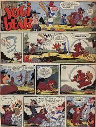 the huckleberry hound show yowp yogi bear weekend comics october 1966
