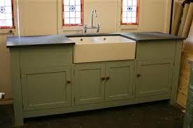 free standing kitchen sink cupboard custom made sink units uk