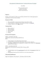 receptionist cover letter exles reception cover letter