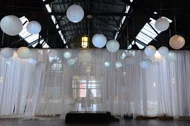 Sheer Draping Wedding Universal Light And Sound Recent Events Sheer Curtains And