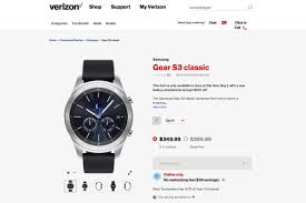 samsung gear s3 classic available on t mobile verizon and at u0026t