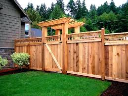 Backyard Privacy Fence Ideas Backyard Fence Repair Privacy Cost Plans Lawratchet Com