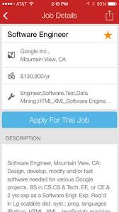 Google Jobs Resume Upload by 10 Apps To Take Your It Job Search Mobile Techrepublic