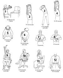 Exercise At The Office Desk Computer Desk Exercises Innovative Office Desk Exercises Clinker