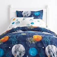 Travel Duvet Cover Space Travel Kids Sheets U0026 Bedding Set The Company Store