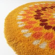 Pop Art Rugs 100 Pop Art Rug Vintage Circular Pop Art Rug On Wool 1970s