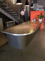 bureau beton ciré plan de travail en béton ciré béton ciré enduits décoratifs