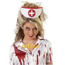 Halloween Costumes Nurse Cosplay Halloween Costume Nurse Blood Clothing Costume Super Scary