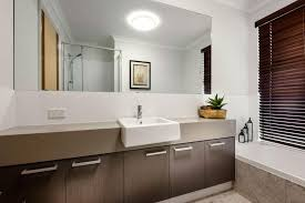 bathrooms design long narrow white bathroom vanity for double