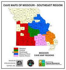 missouri caves map cave map dvd southeast regi cave maps digital media