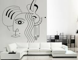 top 10 art inspired pixers products guitar and face wall mural by pixers