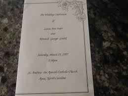 Sample Wedding Program The 25 Best Catholic Wedding Programs Ideas On Pinterest