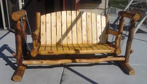 Modern Outdoor Wood Furniture Bench Amazing Porch Bench Glider Glider Chair Bench Swing Patio