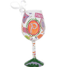 wine glass christmas ornaments christmas ornaments wine glasses
