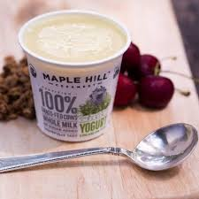 grass fed dairy is kinder and greener says maple hill creamery
