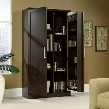 Sauder Harbor View Bookcase by Sauder Cabinet With Doors Best Home Furniture Decoration