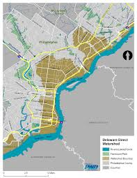 Map Delaware Key Documents Maps Philadelphia Water Department