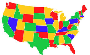 map usa color united states map to color thefreebiedepot coloring pages and