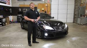 lexus isf hid bulbs lexus isf led conversion overview youtube