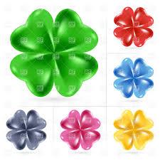 four leaf clover irish shamrock st patrick u0027s day symbol vector