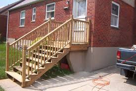 Porch Stair Handrail Outdoor Stair Railing Code Professional Staircase Enhancements