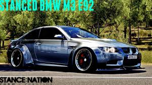 stancenation bmw rocket bunny bmw m3 e92 forza horizon 3 stance nation beemer