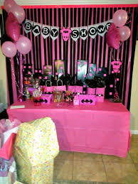 batman pink baby shower theme for a baby shower batgirl