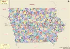 map of iowa towns iowa zip code map iowa postal code